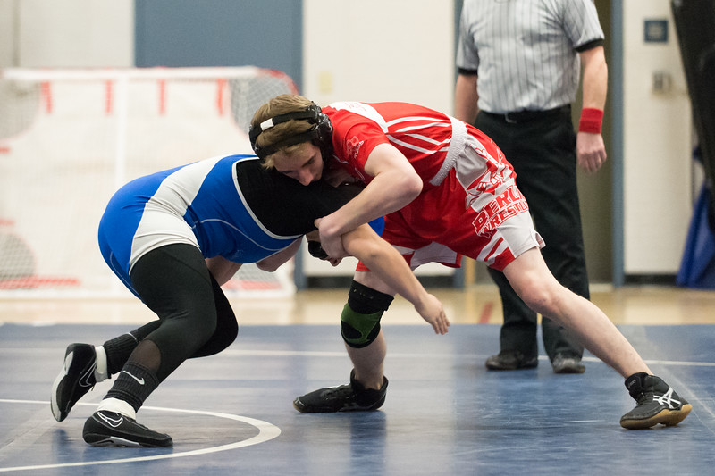 01/23/19  Wesley Bunnell | Staff  Plainville wrestling defeated Berlin at home on Wednesday night. Plainville's Simona Babagallo vs Berlin's Tyler Barber in the 132lb match.