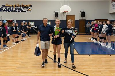 2020 Volleyball Senior Night
