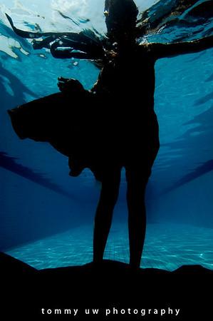The 3 Models - underwater