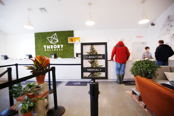Theory Wellness prepares for recreational marijuana use-011019