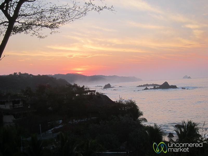 Sunrise along Mazunte's Coast - Mexico