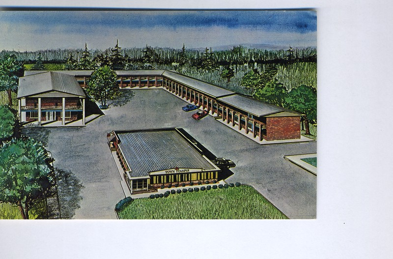 The Town and Campus motel and banquet facility was located on Green Lane.