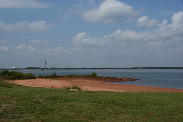 Draper Lake Low Water 2009