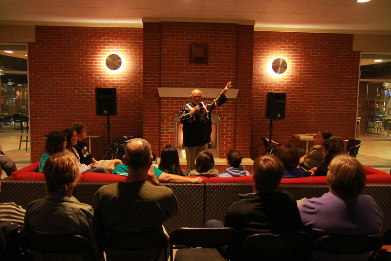 Cherokee Storytelling with Freeman Owl; Southern Appalachian Culture Series Fall 2012