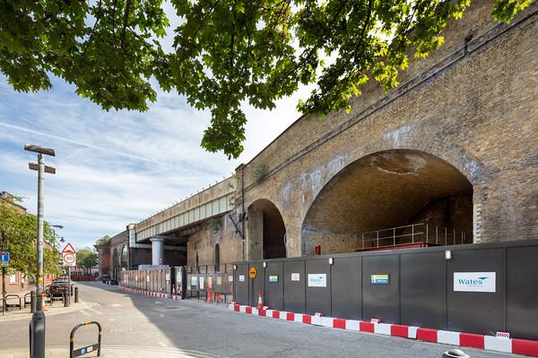 Borough Yards, Southwark - progress photos