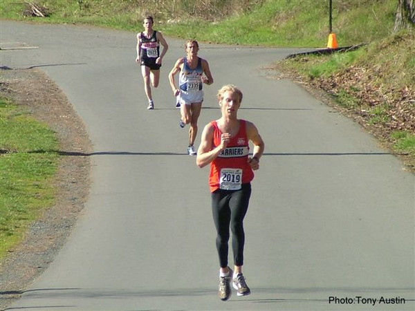 2004 Hatley Castle 8K - A great finish for 2nd overall