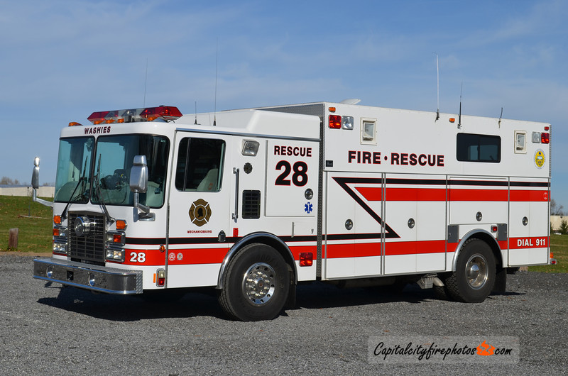 Mechanicsburg X-Rescue 28: 1994 HME/4 Guys   (*** Sold to New Portland, ME in 2016/2017 ***)