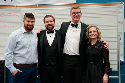 Band Group Photos @Mid-Winter Concert, Feb 12, 2019