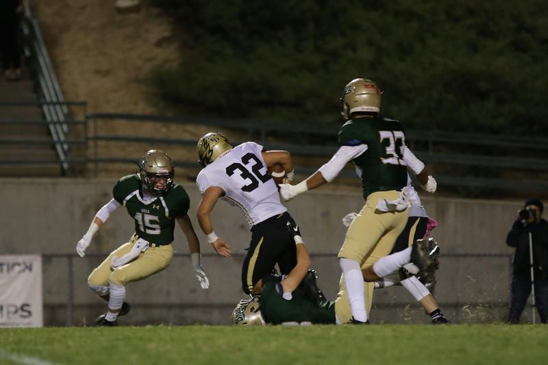 El Dorado vs Brea Olinda at Brea Olinda High School in Brea, California on October 28, 2016. Photo: Chris Anderson/114photography