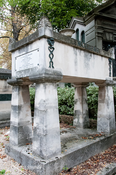 Pere Lachaise cemetary: Moliere