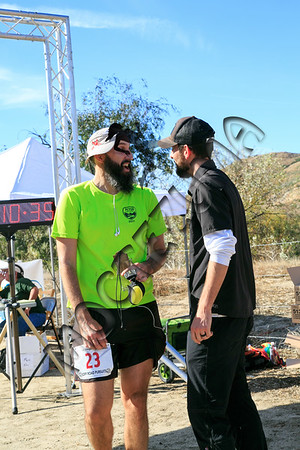 Trail Marathon - Finish