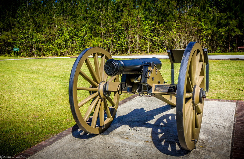 Civil War Battlefield Cannon New Bern NC