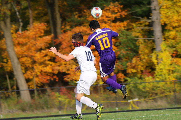 Soccer Boys Districts vs Maple Valley - KCHS 10/21/20