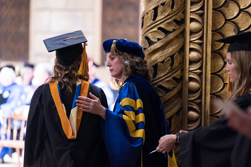 // University of Rochester School of Nursing Commencement, Kodak Hall at Eastman Theatre May 17, 2019.  // photo by J. Adam Fenster / University of Rochester