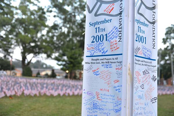 911 Tribute at Stumptown Park Matthews NC