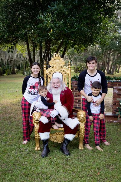 Santa Minis 2018: Aidan, Mairin, Kieran, and Rian!