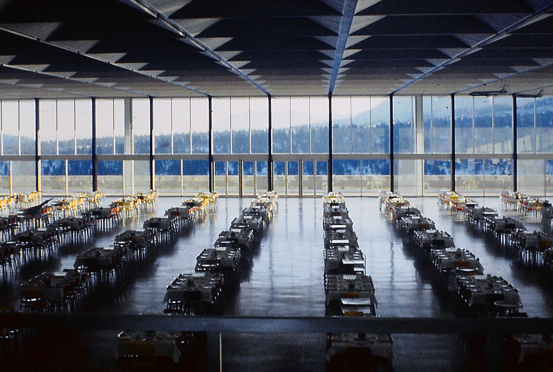 AFA Dining Hall, one of my major projects