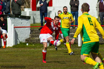 Johnstone Burgh 2 St.Anthony's 1, McBookie.com West of Scotland League Central District First Division, 30th April 2016