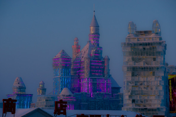 Harbin Ice and Snow Festival.