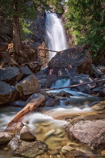 Falls Creek Falls near Winthrop, Washington