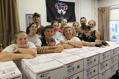 Soldiers' Angels Packing Party, Lehighton (7-13-2011)