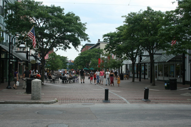 Church Street Marketplace - Burlington, Vermont - August 17, 2008