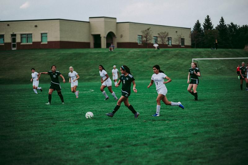 Holy Family Girls Varsity Soccer vs. Glencoe-Silver Lake, 9/24/19: Makenzie Pavelka '22 (8)