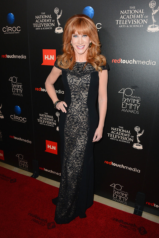 . Actress/comedian Kathy Griffin attends The 40th Annual Daytime Emmy Awards at The Beverly Hilton Hotel on June 16, 2013 in Beverly Hills, California.  (Photo by Mark Davis/Getty Images)