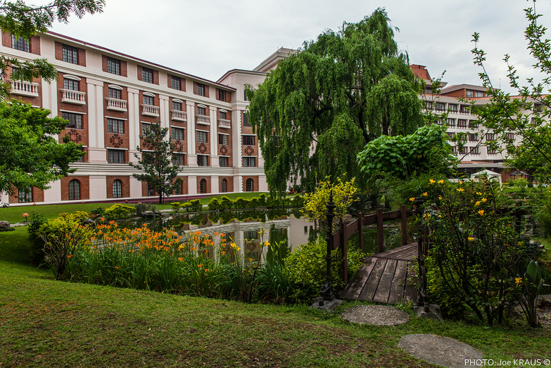 Yak & Yeti Garden Pond