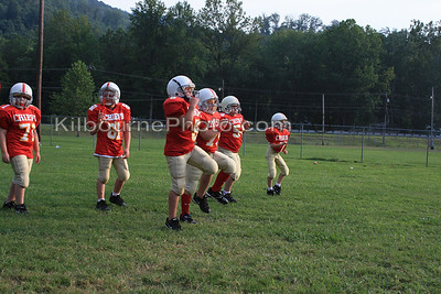 Big Stone Gap Chiefs Practice