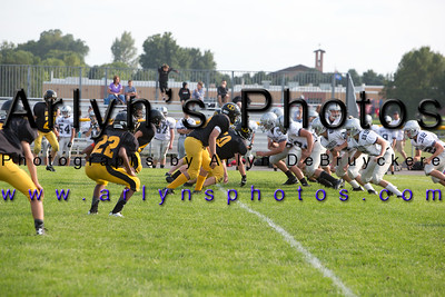Hutch Football vs GSL