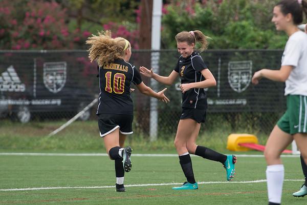 Girls JV Soccer Fall 2018