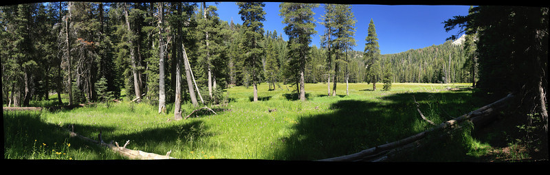 Silliman Crest - 2010 Backpacking Trip Panoramas
