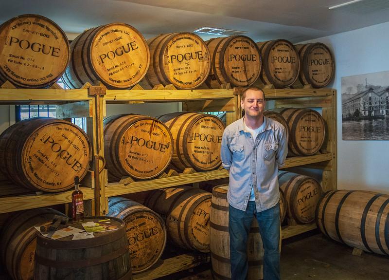 John Pogue, 5th Generation Master Distiller