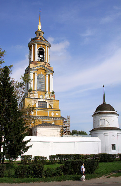 Suzdal - Bell Tower, Monastery of the Deposition of the Holy Robe.