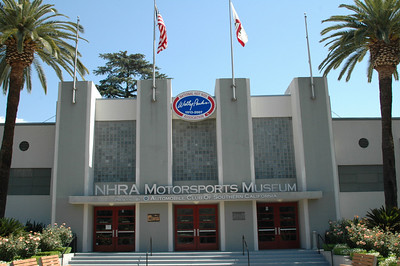 NHRA Drag Racing Museum Pomona CA