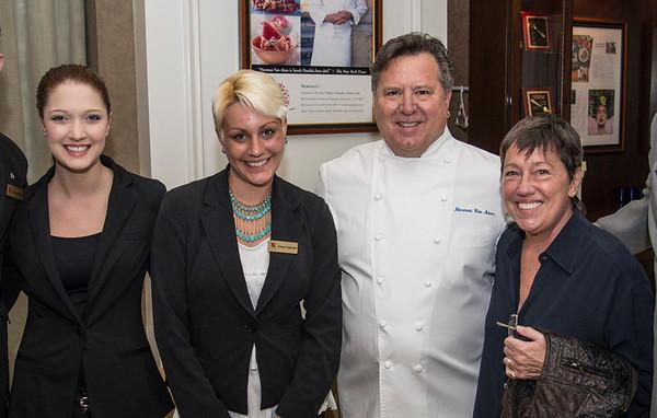 Chef Norman Van Aken's Book Signing @  Norman's 3-28-14
