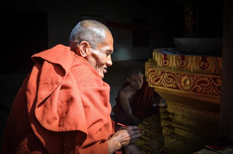 Buddhist Monk || Burma (Myanmar)