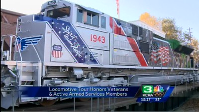 Veterans Train UP 1943 Event