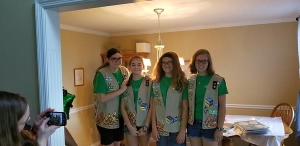 Annemarie - Girl Scout Bridging