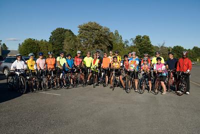 MVBC Tuesday Ride Crew 9 15 09