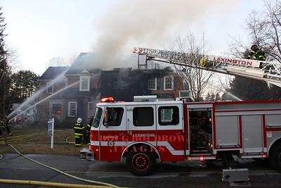Lexington, MA - 2nd Alarm, 47 Vaille Ave, 2-26-12