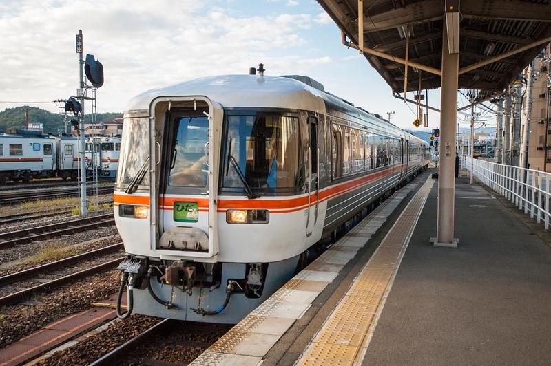 JR Takayama Line Limited Express. Editorial credit: Kapi Ng / Shutterstock.com