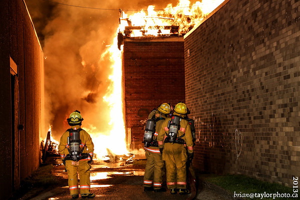 Structure Fire - Kingston, July 29, 2013