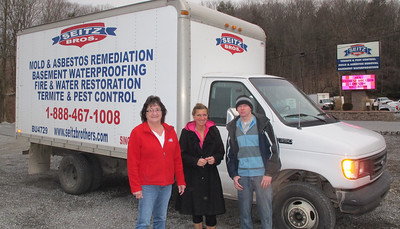 Seitz Brothers Donates Use of Truck for ACS Chinese Auction, Hometown (3-22-2014)