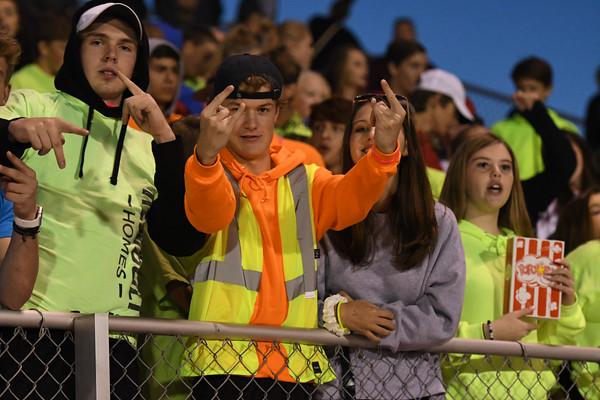 Crowd at Varsity Football vs Waverly