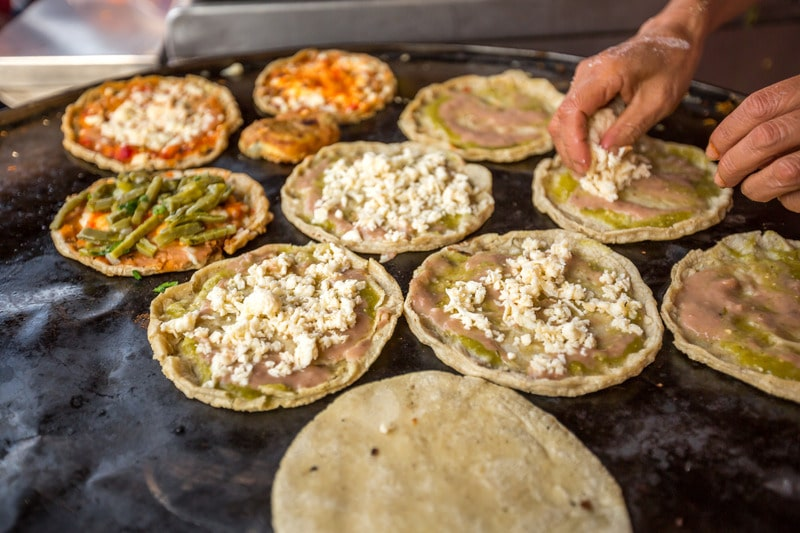 streetside tacos in mexico city - what to eat in mexico