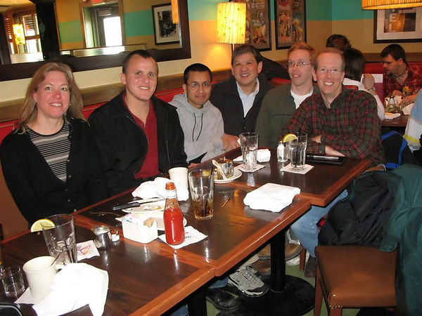 B. Murray's farewell lunch