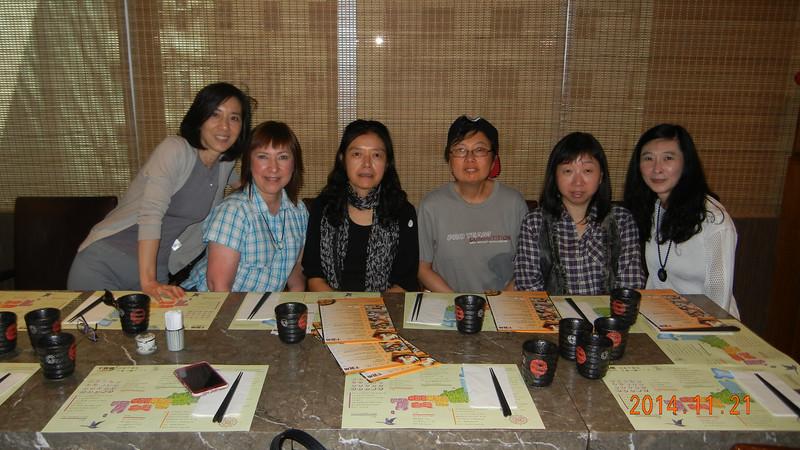 SHCC Gathering 2014/11/22, 2014/11/29