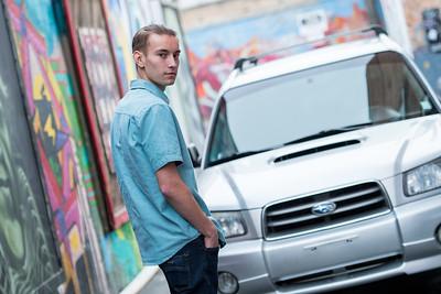 Brad SLC urban alley